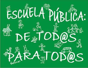Escuela Pública para todos y todas